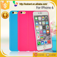 Fancy mobile phone 4.7 inch ultrathin slim soft back cover for iphone 6