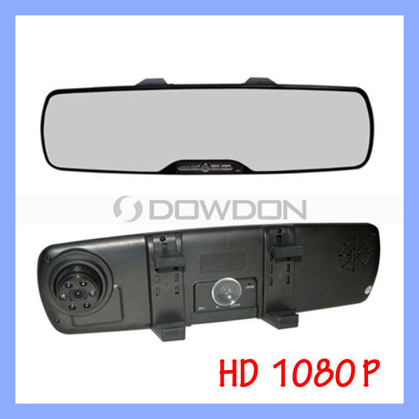 2.7 Inch LCD Screen Rearview Monitor Mirror Camera DVR 1080P Car Mirror Camera