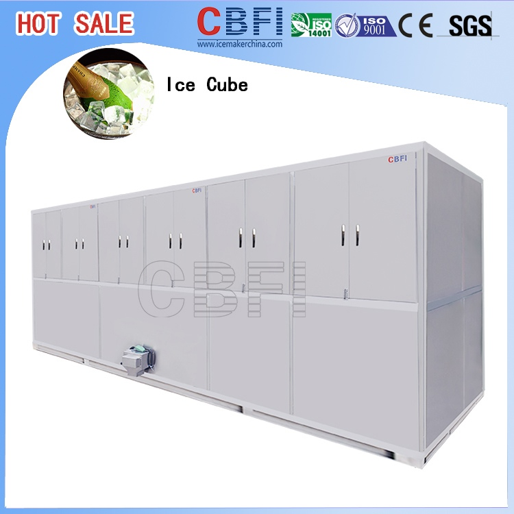 Large cube ice size ice cube maker machine for ramadan hot for Ice makers for sale