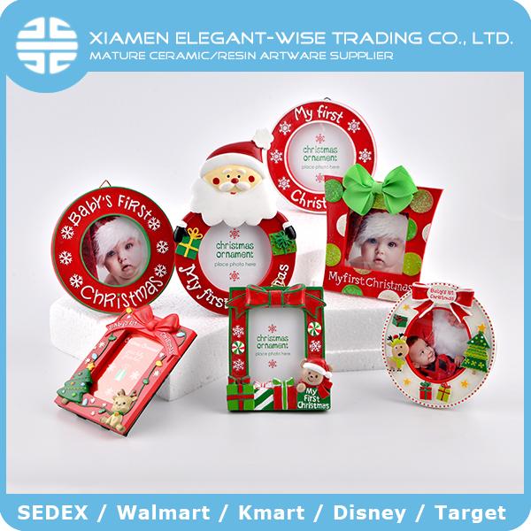 Christmas Frame Ornaments Bulk