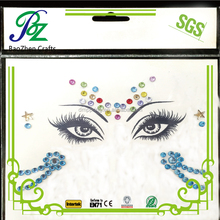 Eye makeup unicorn jewish jewelry stickers/face diamond bindi stickers