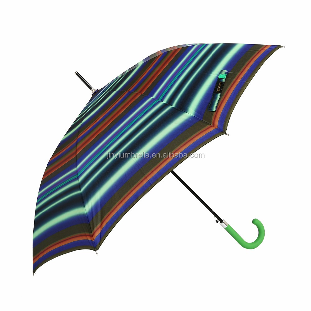 JINYI happy travel full body dome fashion custom print beach scooter outdoor umbrella parts stripe upside-down umbrella