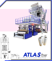 ATLAS Multiple layer blow film extrusion (Double Automatic Winder)