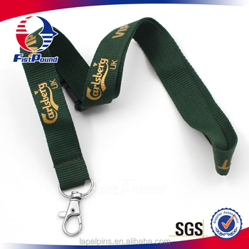 Promotional Custom Polyester Grosgrain Lanyard Of Factory Price