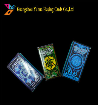 Marketed 300gsm Bridge blackcore cardstocks Tarot cards YH190