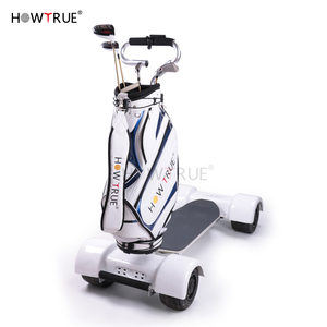 New Skateboard Body-Turning Electric Golf Trolley Cart With 60V 500W Large Lithium Battery