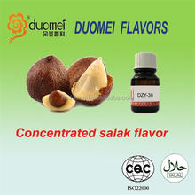 Concentrated E PG/VG salak liquid flavor/flavour/essence