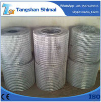 China hardened bottom price welded wire fence mesh hardware cloth 1/2 3/4 1 inch Welded wire mesh