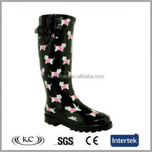 best selling low price black dog winter wellington boots