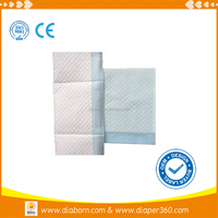 Hot sale breathable soft OEM disposable baby 60*90 underpads