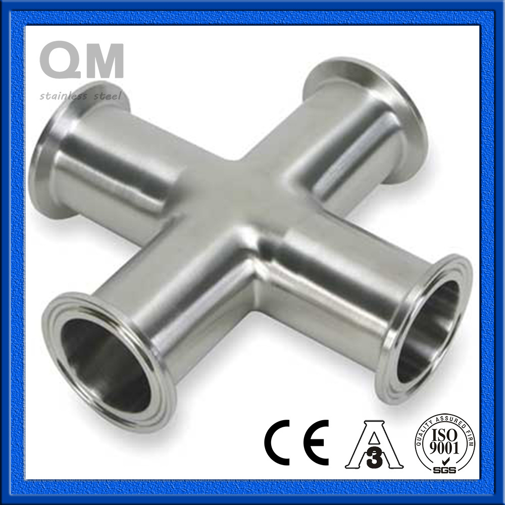 Stainless Steel Tube Fittings Clamp Cross 3A DIN Sanitary