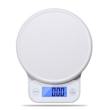 From China Manufacturer 5kg 1g Mini Portable Electronic Scales Kitchen Weight For Food with LCD Plastic Platform