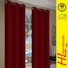 HLHT delivery on time quality thickening sun-shading blackout hotel curtain
