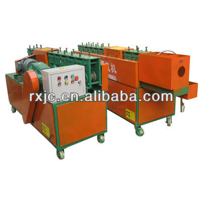 squre steel bar straightening and cutting machine