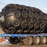 Diameter 3M x Length5M ISO certificated high quality Evergreen-Maritme pneumatic rubber fenders
