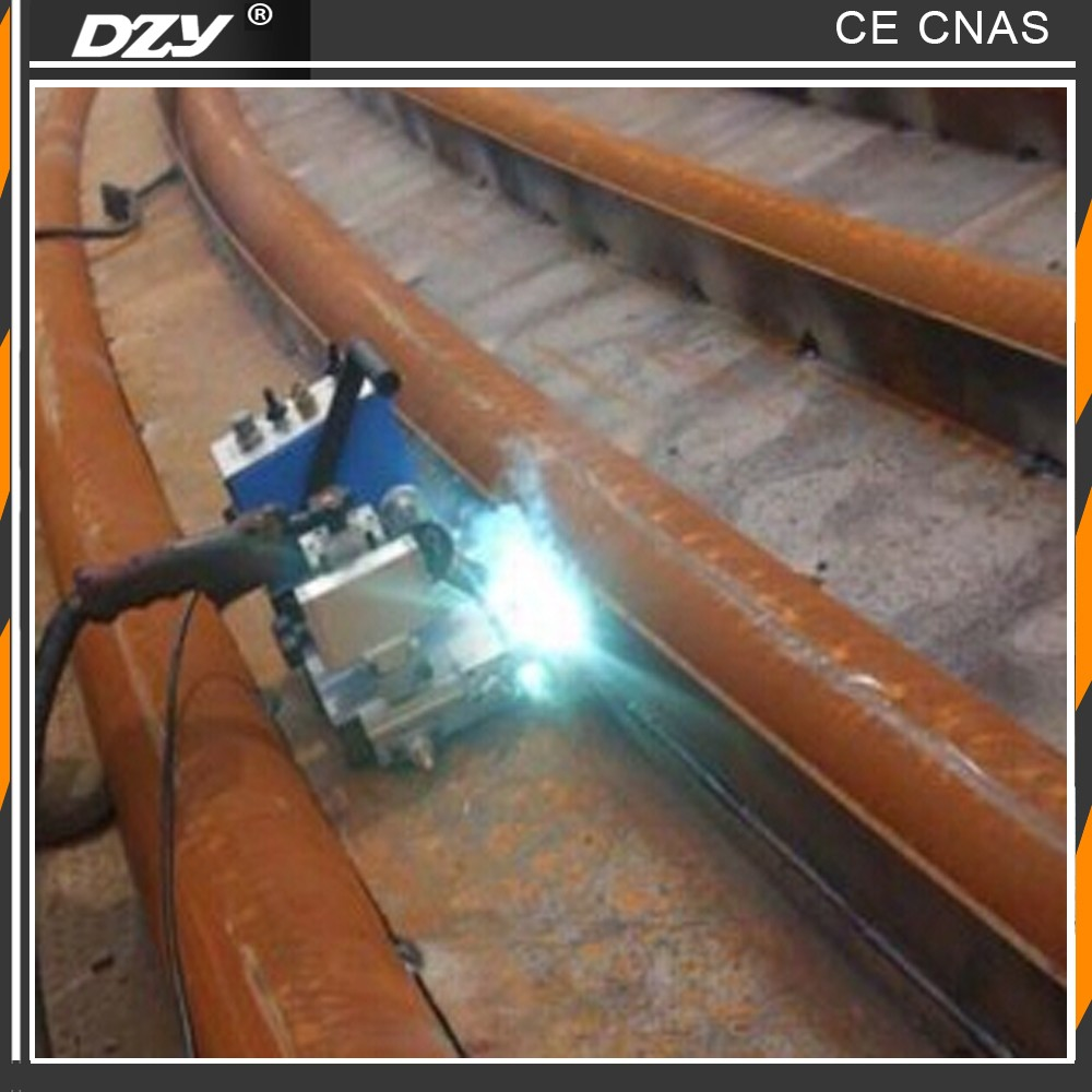 Portable small auto welding carriage for steel pipe
