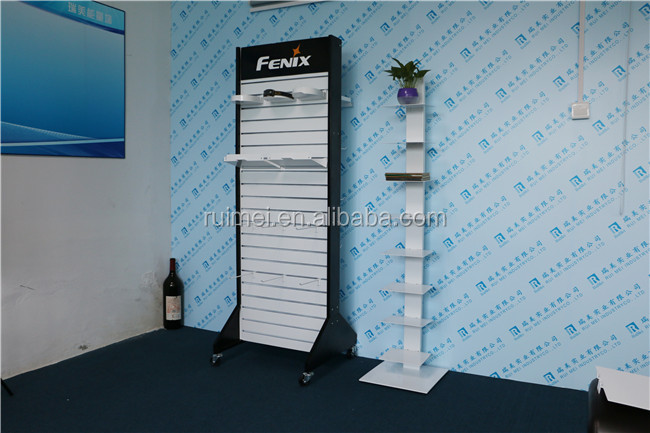 customized floor stand metal sports shoes rack