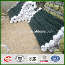 chain link fences for pets Top sell grass green pvc chain link fence