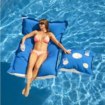 Outdoor waterproof floating bean bag