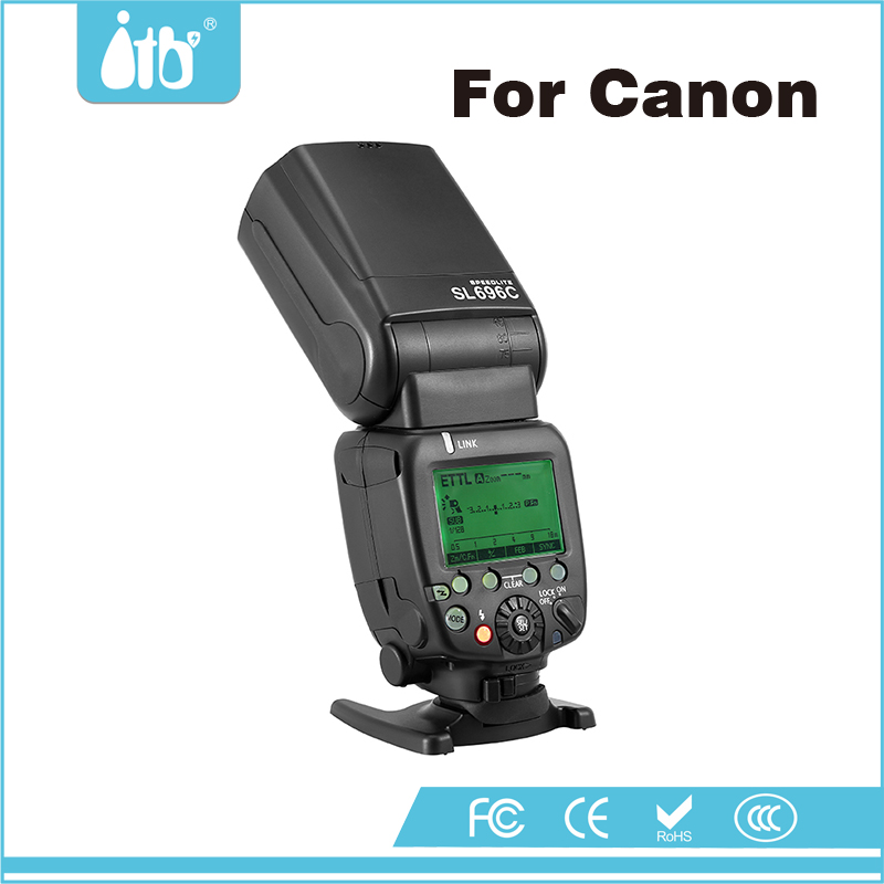 Wireless Camera Flash Speedlite & USB updating Firmware External LED for Canon 5D Mark III and Canon 70D