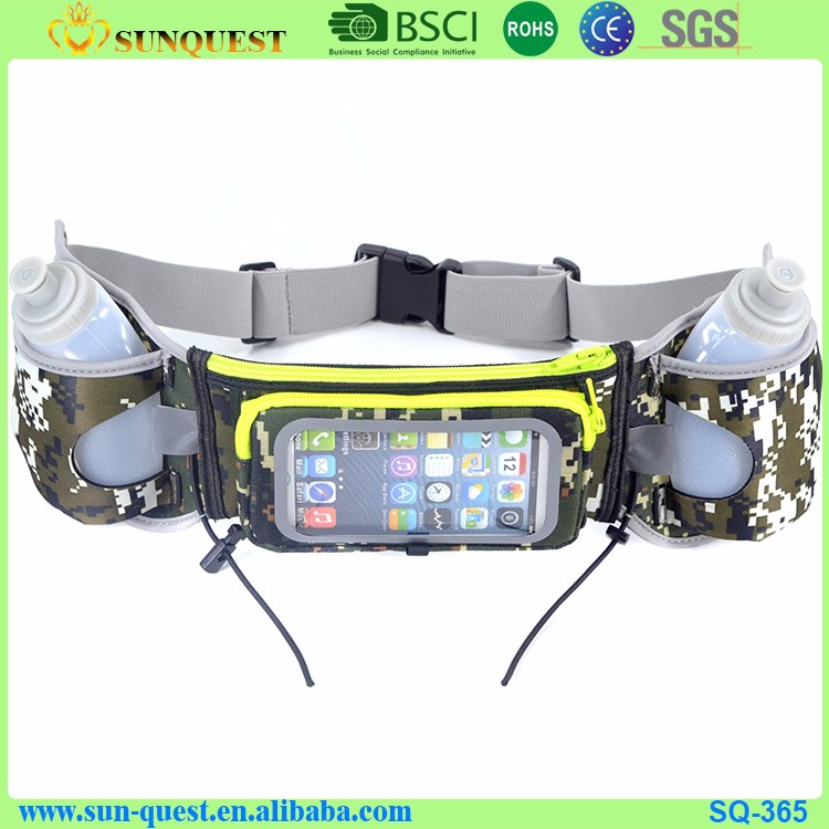 Travel Fishing Casual sports running portable Bag Waist bag Pack Outdoor Bumbag Belt Water Bottle Money Phone
