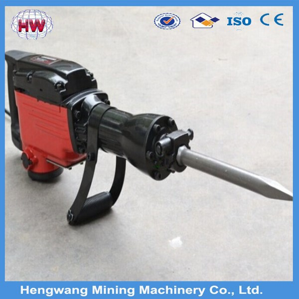 Electric heavy duty hand rotary hammer drill set