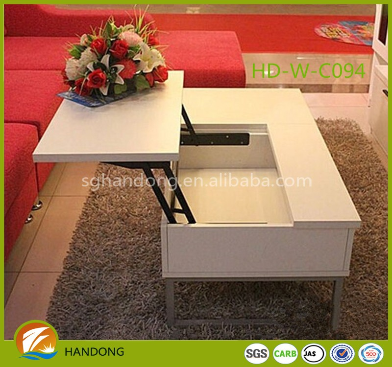 Alibaba New Style Houseware Cheap Two Layers Coffee Table