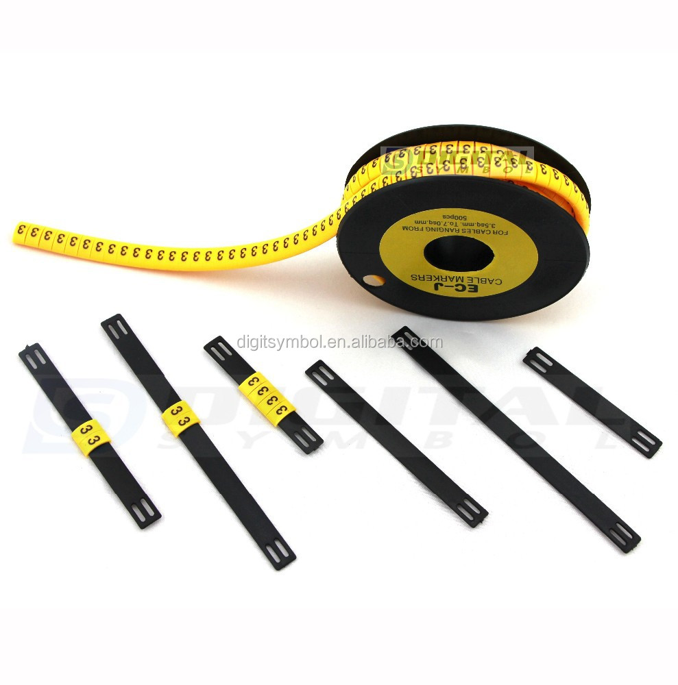 Cable Markers Product : Oval flat cable markers buy