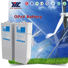 ISO9001 CE MSDS rechargeable Deep Cycle GEL 2V Solar batteries 1000ah OPzV Battery for Solar Panel System energy Storage