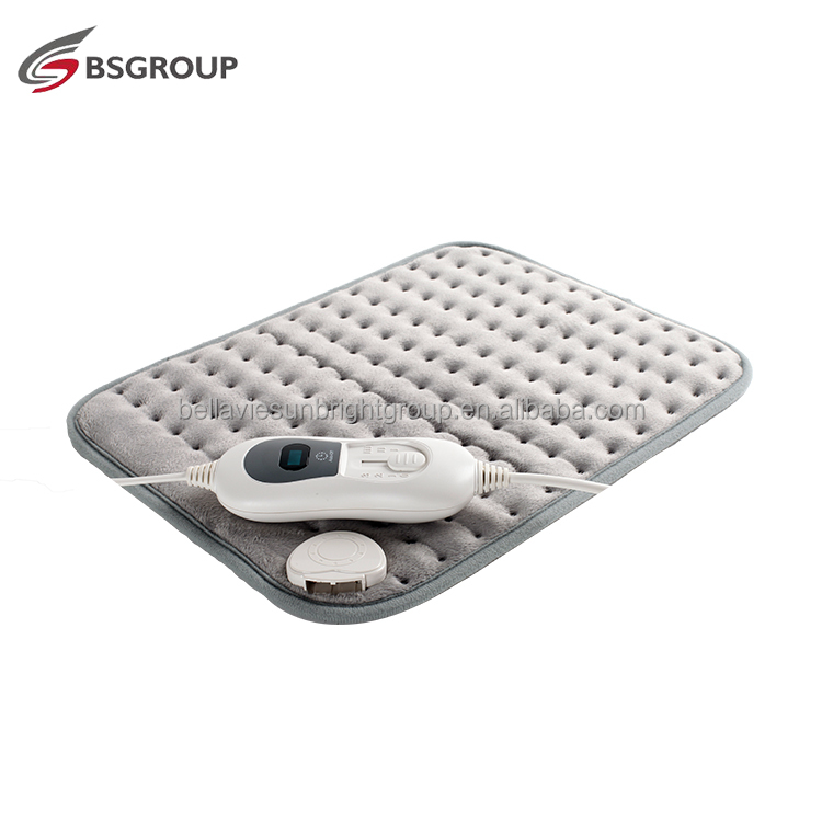 CE GS Approved fast heating electric heating pad for body