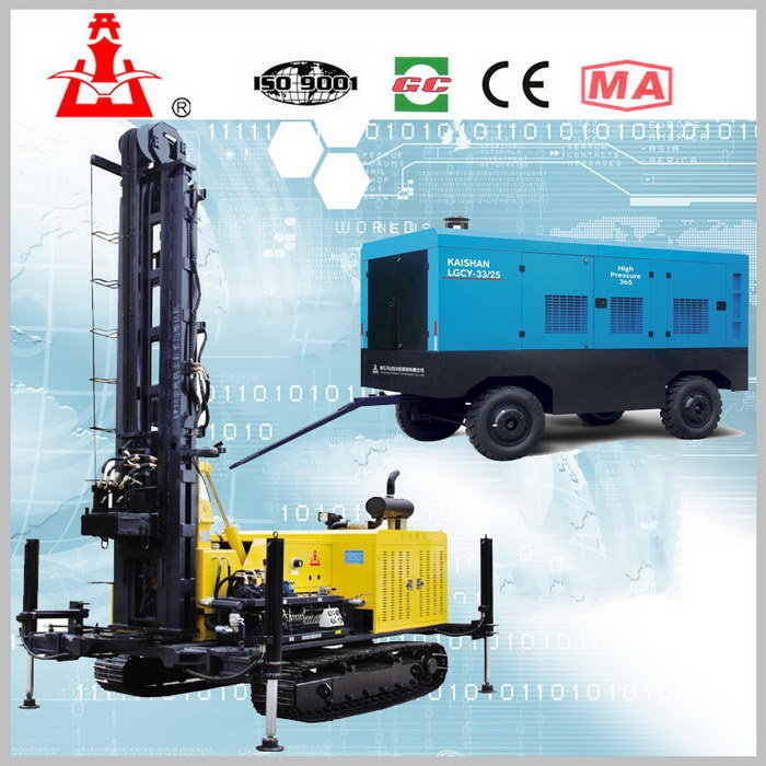 Modern stylish mini and manual water well drill rig