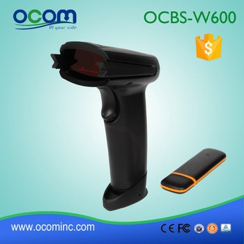 2.4GHZ 1D Wireless Barcode Scanner with Memory