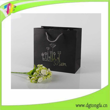 Alibaba Customized Printed paper Wine Bag ,wine Paper Bag With logo in china Printing