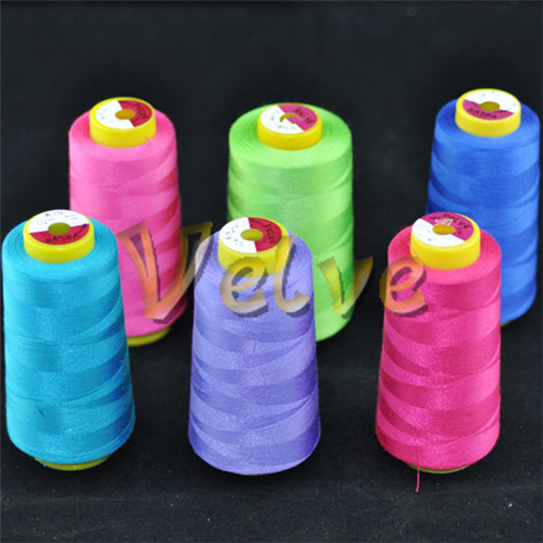 spun polyester sewing thread 44s 2