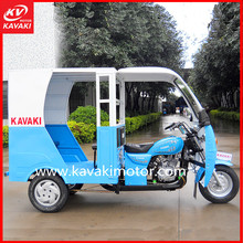 China KAVAKI Hot Sale Covered Petrol tricycle Passengers ATV
