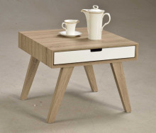 Modern Scandinavian Furniture Wooden End Table Side Table with Drawers