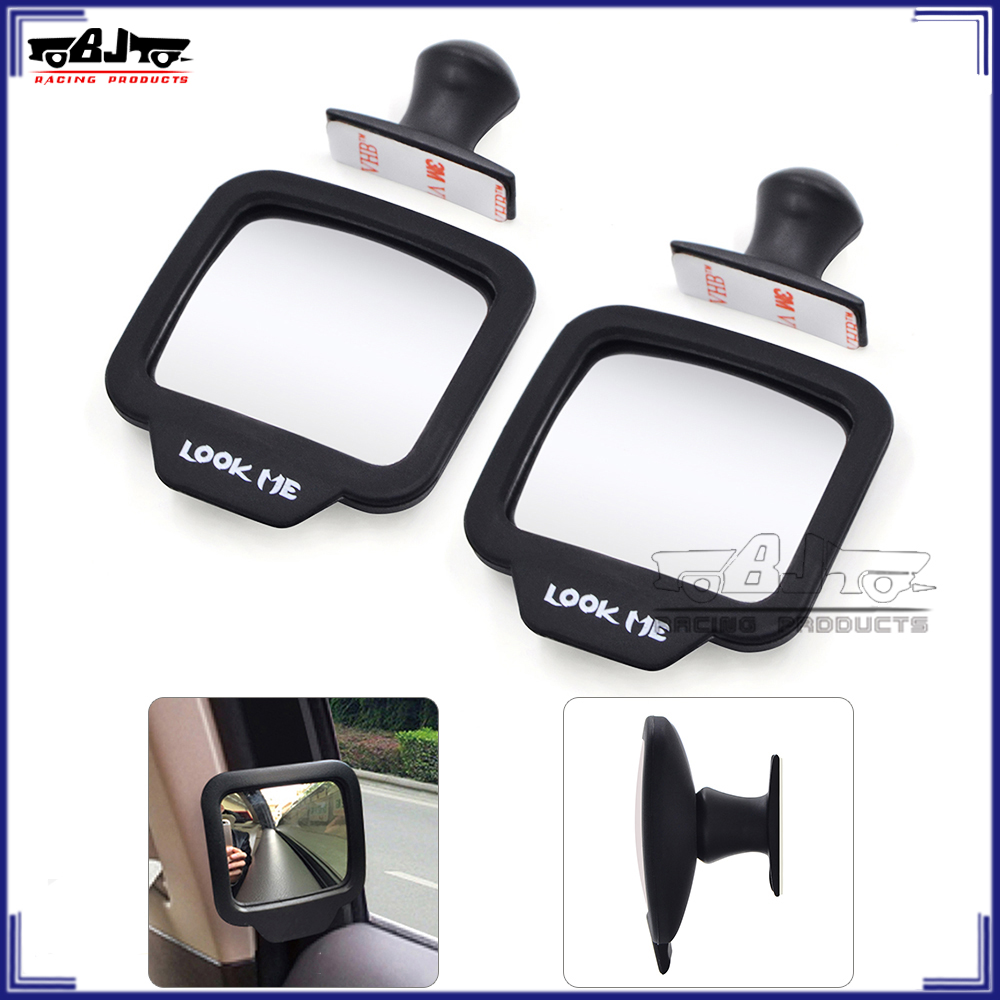 BJ-IRM-001 Portable Car Accessories 360 Degree Adjustable Car Safety Mirror Auto Blind Spot Rear View Mirror