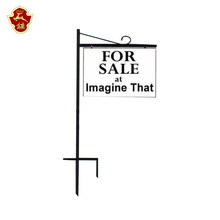heavy duty angle iron sign stake