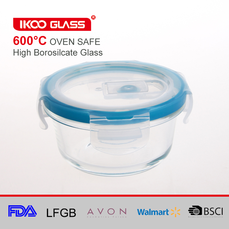 Pyrex glass food warmer lunch box container