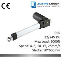 12/24V DC 6000N 3mm/s IP66 linear actuator With Hall sensor