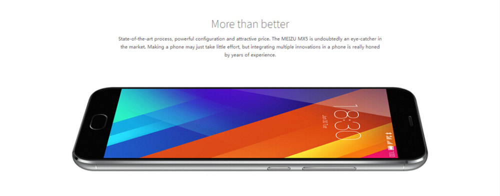 wholsalOriginal Meizu MX5 4G LTE Mobile Phone 5.5'' 1080P MTK Helio X10 Octa Core Android 5.1 3GB RAM 16GB 32GB 64GB 7.6mm Slim