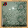New style promotional laminated bullet proof glass price m2