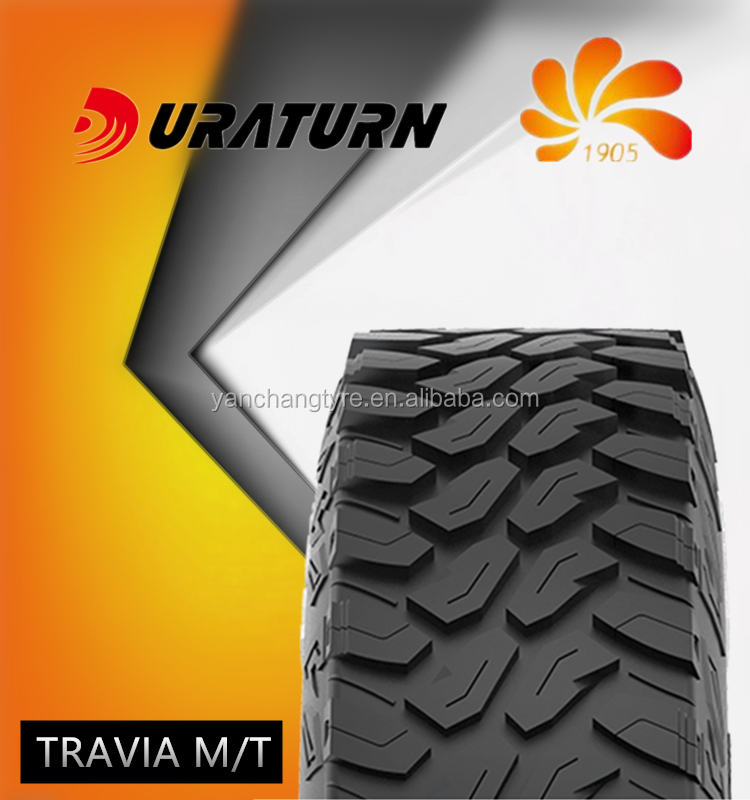 SUV tires 33*12.5R18 Travia M T DURATURN tires for Modem SUV light truck Wagon