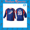 3D Sublimation Transfer Best Selling Black Hockey Jersey