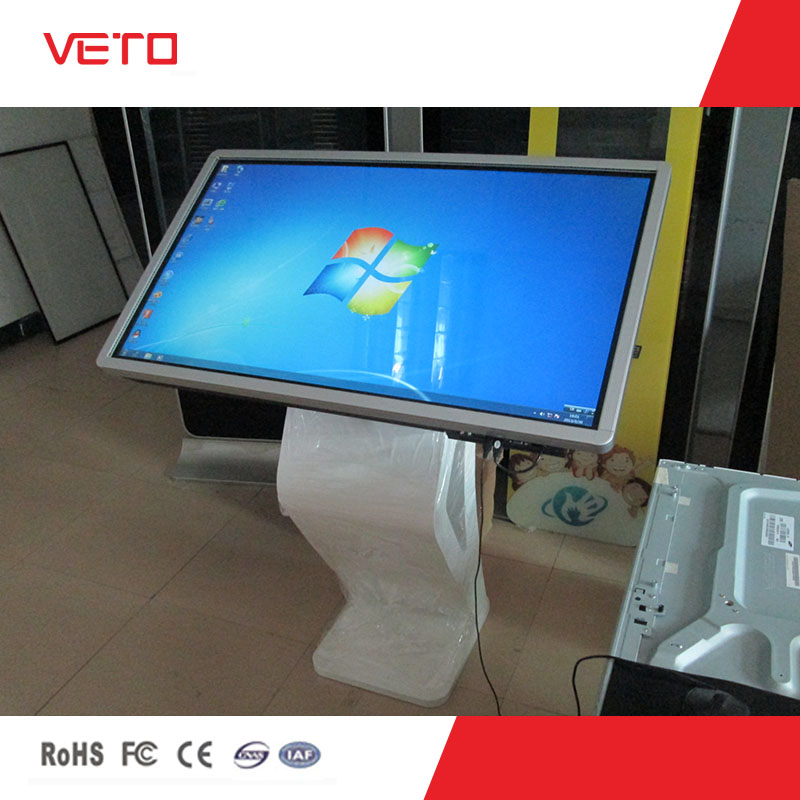 42 47 55 inch touch screen kiosk price,all in one PC kiosk
