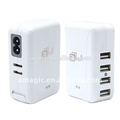 Portable Adaptors AC Home Chargers 5V 2.1A UK Euro USA Canada Switching Power Supply Adapters