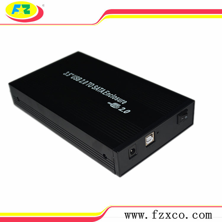 usb 2.0 to 3.5 external hdd case /hdd enclosure for hard disk 2tb