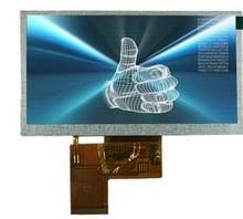 5 inch lcd touch screen with capacitive touch for indoor