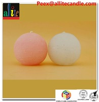 Allite round ball candles candle with soy wax plam wax AB51