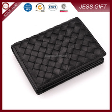 Cheap business card holder with leather material